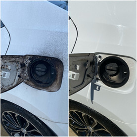 Gas Cap Cleaning