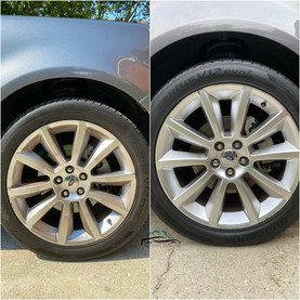 Wheel Cleaning and Tire Shine