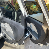 Door Panel and Glass Cleaning