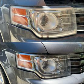 Headlight Restoration on a Ford Flex