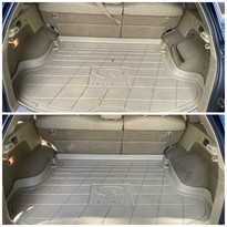 SUV Trunk Cleaned