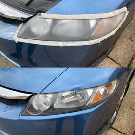 Headlight Restoration on a Honda Civic