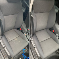 Passenger Seat Stain Removal