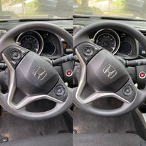 Cleaning of a Steering Wheel