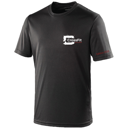 CrossFit heren polyester (M) 2020 t-shirt + mondkapje