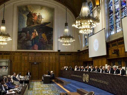 Monitoramento: conheça os casos atualmente em andamento na Corte Internacional de Justiça
