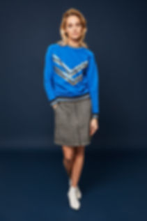 Caddis fly sweatshirt skirt nederde