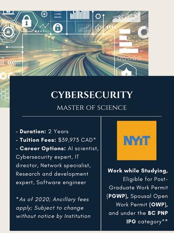 MSc. in Cybersecutiry
