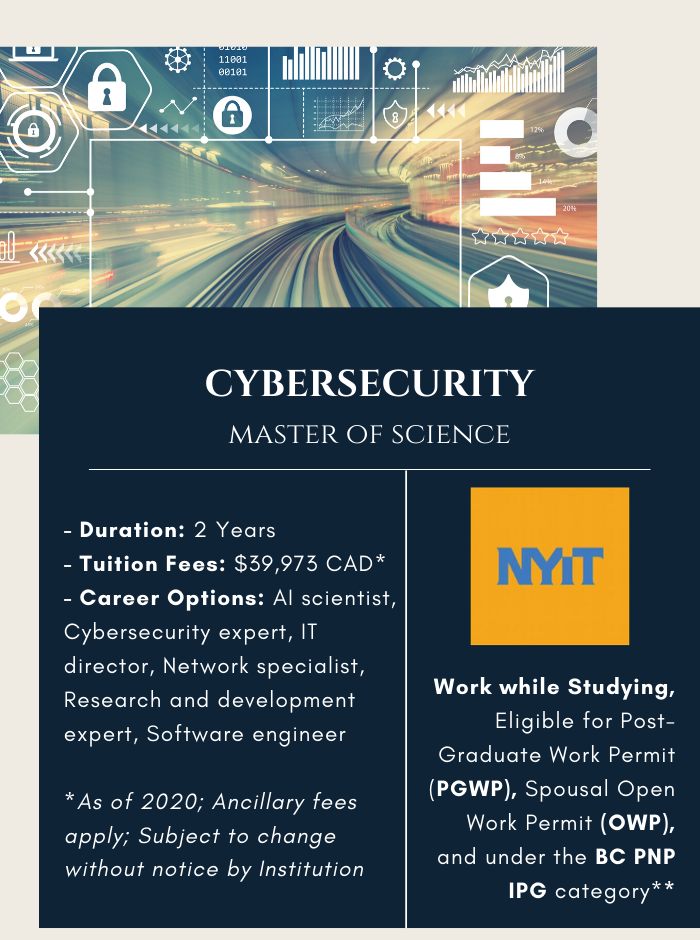 MSc. in Cybersecutiry
