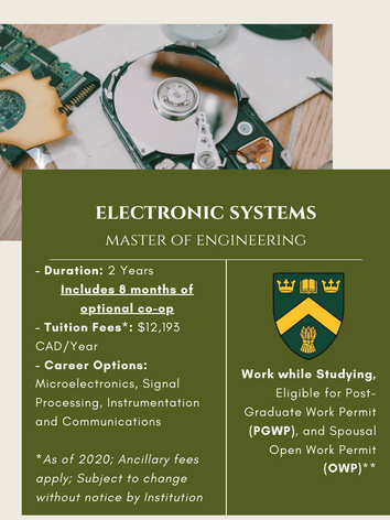 MEng. in Electronic Systems