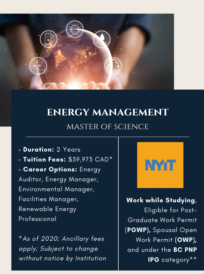 MSc. in Energy Management