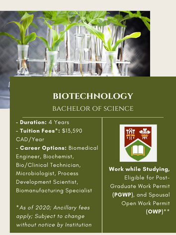BSc. in Biotechnology