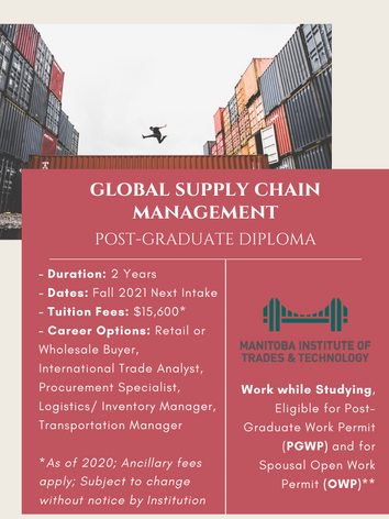 Global Supply Chain Management Post-Graduate Diploma