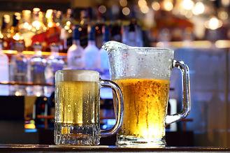 Cold refreshing beer at a bar.jpg