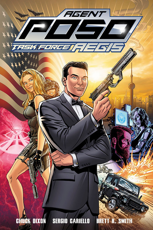 Agent Poso Task Force AEGIS Issue #1