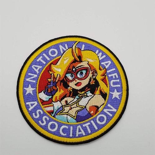 Kamen America Patch - National Waifu Association