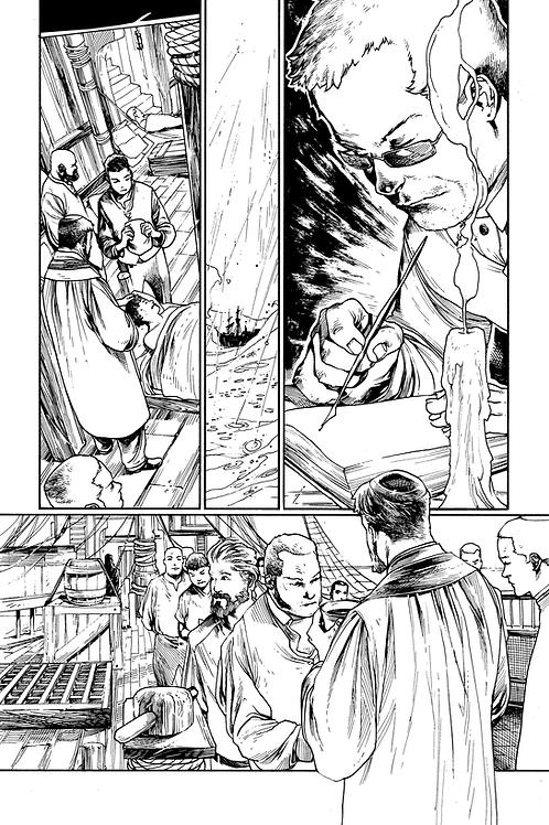 Original Artwork - Page 13 - Soulfinder: Black Tide (Book 2)