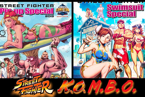 Street Fighter Combo - SIGNED Copy Available