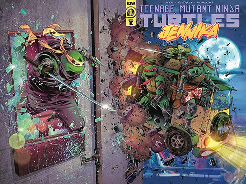 TMNT Jennika Issue No 1 - Exclusive Variant - SIGNED Copy Available