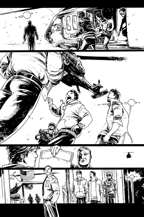 Original Artwork - Page 07 - Soulfinder: Black Tide (Book 2)