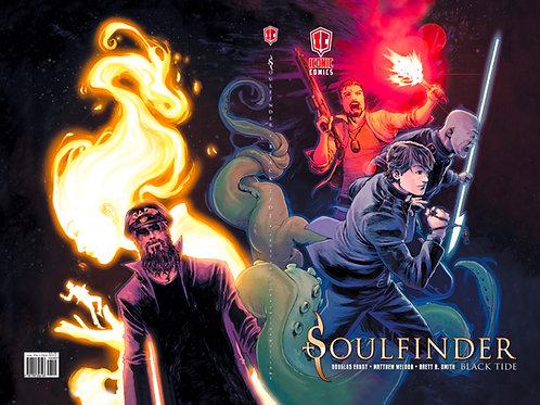 Soulfinder: Black Tide (Book 2) - Matthew Weldon Variant - Hardcover