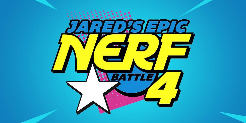 Jared's Epic Nerf Battle 4