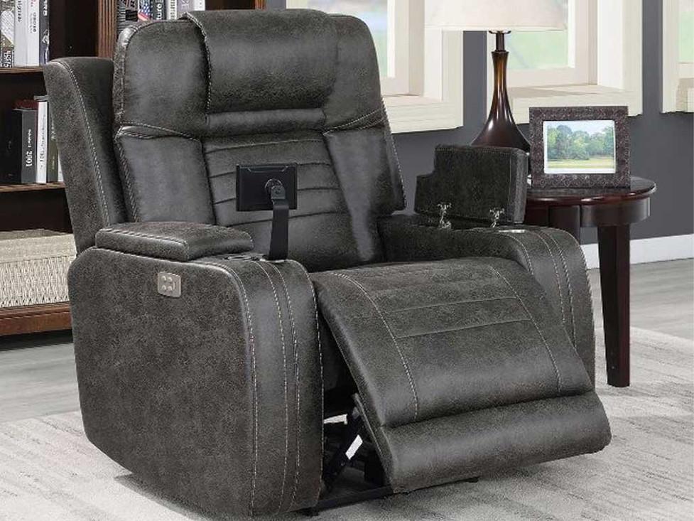 Grey Cub Theater Chair