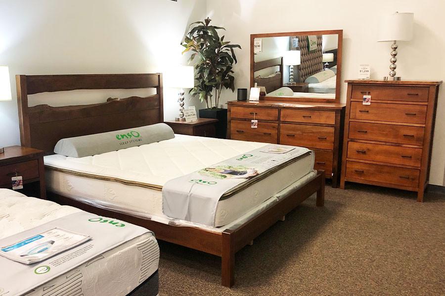 Live Edge Bedroom Set
