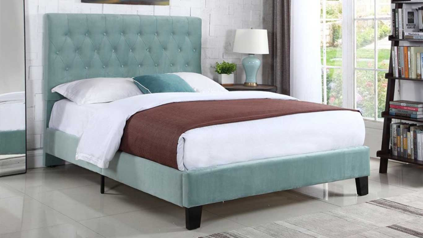 Teal Bed Frame