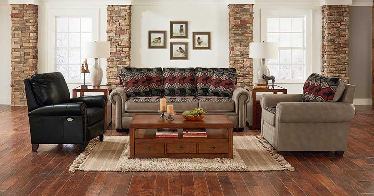 2260 England Rustic Sofa Set