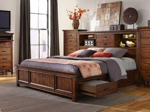 Wolf Creek Storage Bedroom Set