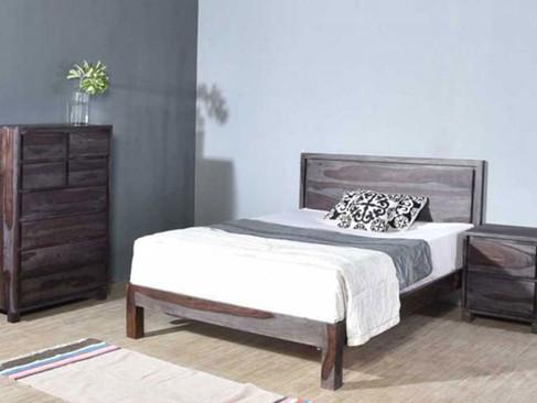Grey Rosewood Bedroom Set