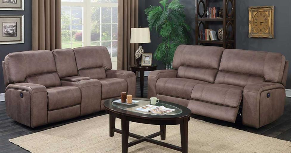 Denali Power Sofa Set