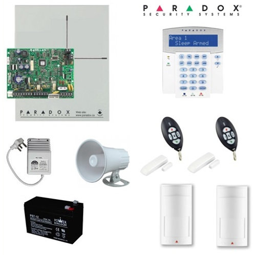 Paradox MG5050 Full Hybrid Alarm Kit