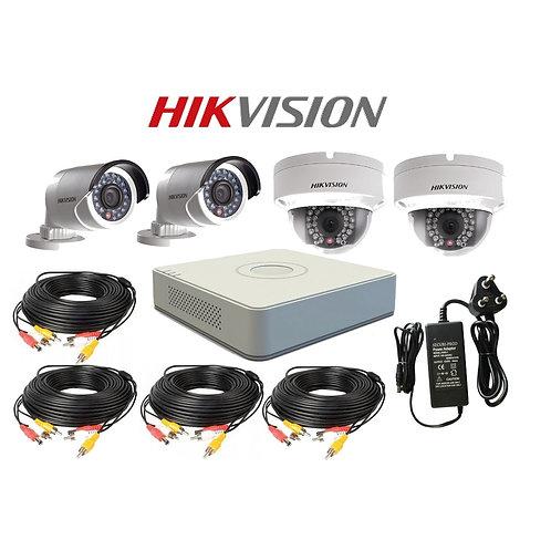 Hikvision 4CH HD Turbo Surveillance CCTV Kit