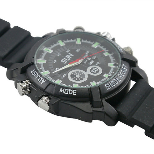 Spy Watch DVR 1000W Night Vision