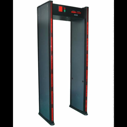 Multi-Zone Walk Through Metal Detector