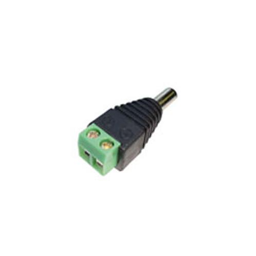 DC Plug Incl. Terminal Connector Block