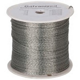 Braided Galvanised Wire 1.2mm 5Kg Roll 600m