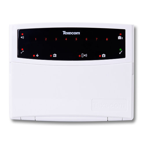 Texecom Premier 8 Zone Keypad