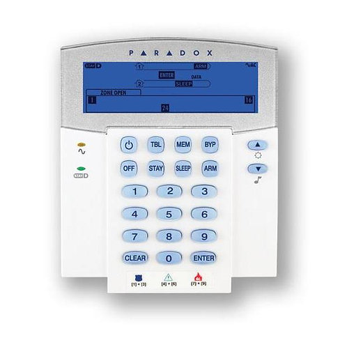 Paradox K37 LCD Wireless Keypad