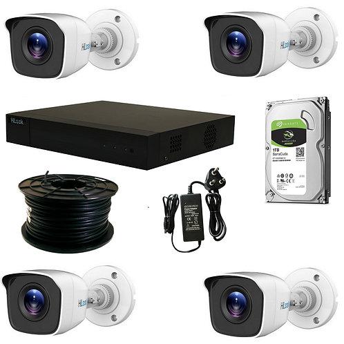 4 Channel HiLook CCTV Kit