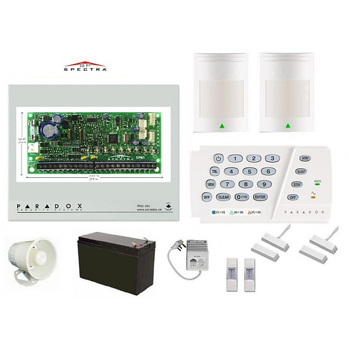 Alarm System - Paradox 8 Zone Kit SP65