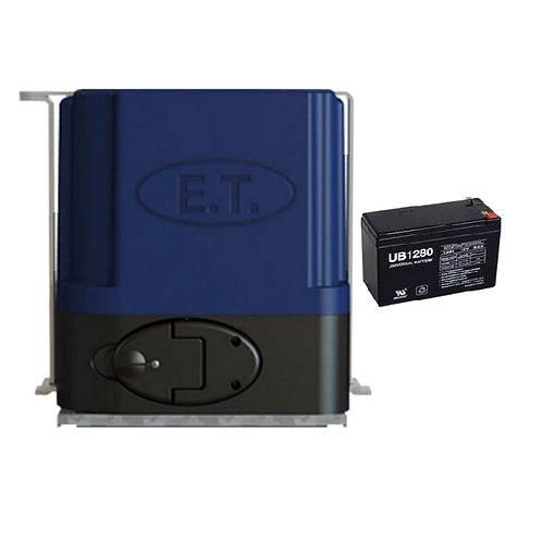 ET Drive 600 Sliding Gate Motor with Battery