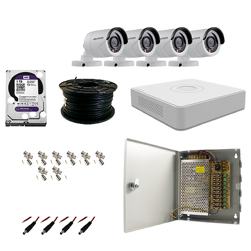 8 Channel Hikvision Turbo HD Kit