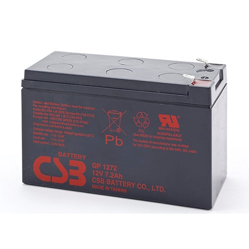Battery 12V 7.2AH Lead