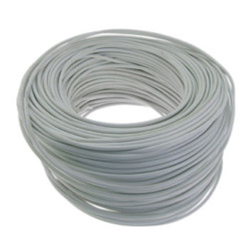 6 Core Cable 100m White/Brown
