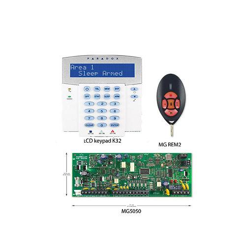 Paradox MG5050 Hybrid Controller Kit with Keypad & Remote