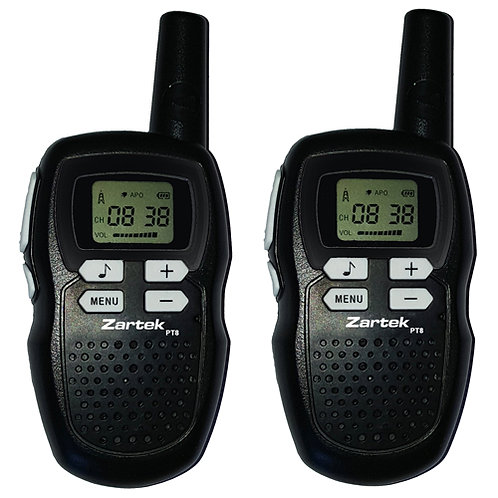 Zartek PT8 Twin Pack Two Way Radio's