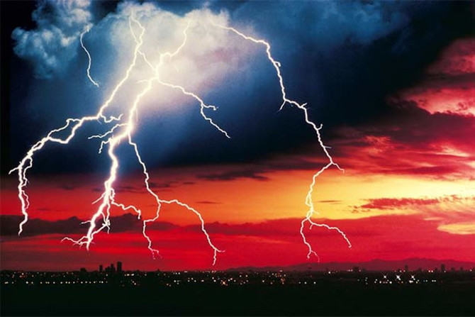 With Summer comes Thunderstorms